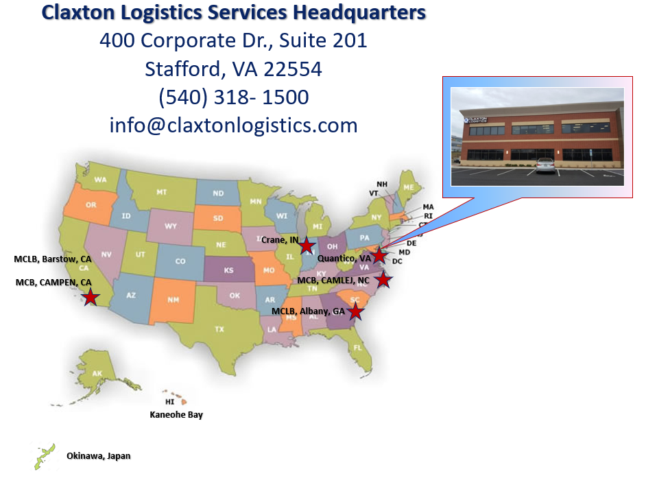 Claxton Logistics Staff Locations (1)